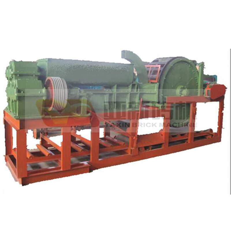 Logo turntable brick machine